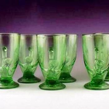Art Deco Mugs?? - Glassware