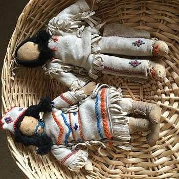 Plains Indian Souvenir dolls