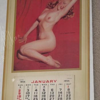 Marilyn Monroe 1955 pinup calendar