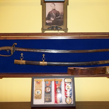 Civil War Presentation Sword