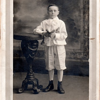 Boy with book - Photographs