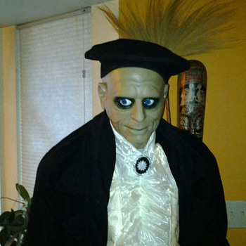 "68""Tall animated halloween door greeter"