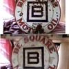 B square oil sign
