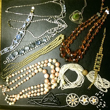 Junk Jewels from Granny and Ma - Costume Jewelry