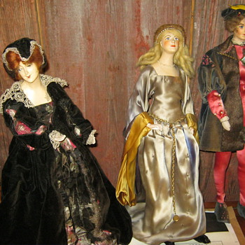 Old Bisque Dolls