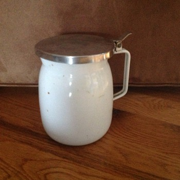 White enamel jug - Kitchen