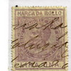 "Victor Emanuel II(Marco polo) """"Revenue Stamp""1863"""""