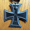 WWI German Iron Cross with original ribbon