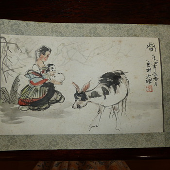 Japanese Painting - Asian