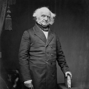 M. van Buren (8th U.S. President) handwitten & signed letter - Paper