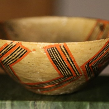 Two bowls made by a member of the Dagua family, Canelos, Ecuador