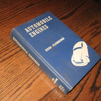 1950 Engine Book - Books