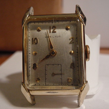 1948 Hamilton Milton 14K - Wristwatches