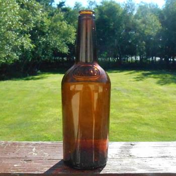 M&M Whiskey Bottle