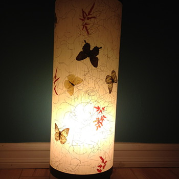 Beautiful cylinder lamp