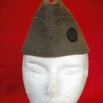 WWI or Early WWII US Overseas Cap #3