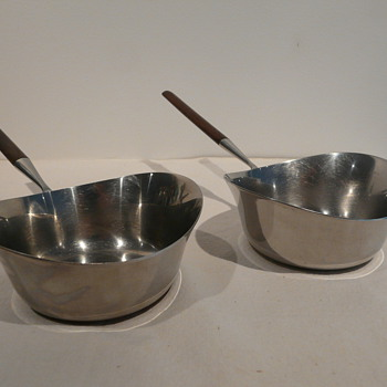 PAIR OF BRANDY POTS/WARMERS - Kitchen