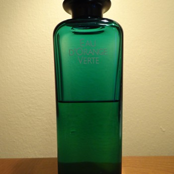 EAU D'ORANGE VERTE BY HERMES - PARIS, FRANCE /13.5 OZ -400ML / REPOST - Bottles