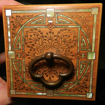 Arts & Crafts Era Wooden Box