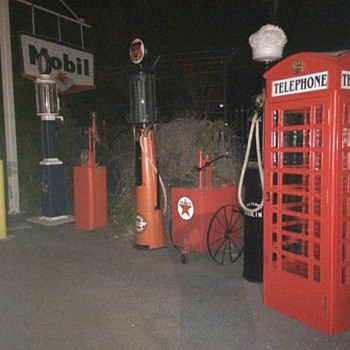 Payphones and Gas Pumps - Petroliana