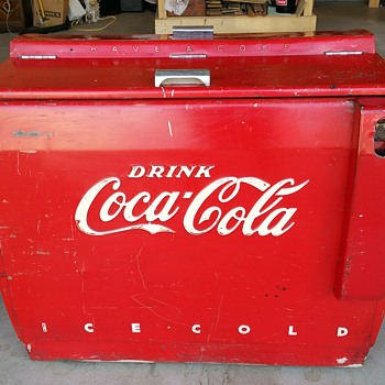 Vintage Coca-Cola Ice Chest - Coca-Cola