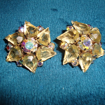 Awesome Clip On Earrings - Costume Jewelry