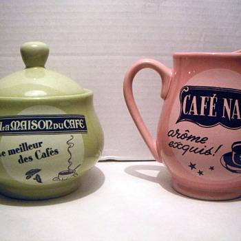 Rosanna sugar bowl and creamer