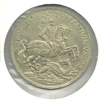 Intempestate Securitas St. George  Token? Medal? - World Coins