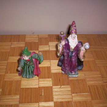 Wizard figurines