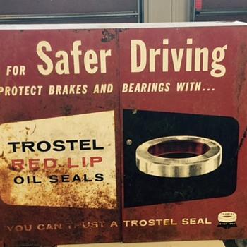 Trostel Red Lips Oil Seal Steel Cabinet