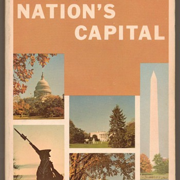 1967 - The Nation's Capital - Tour Guide - Books