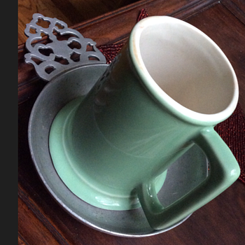 Vintage Green Mug - Kitchen