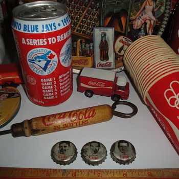 Some of my Coca Cola items