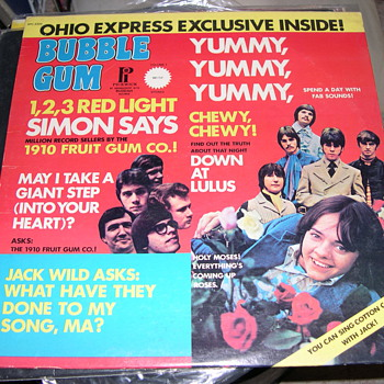 BUBBLE GUM BY BUDDA RECORDS OHIO EXPRESS ON PICKWICK - Records