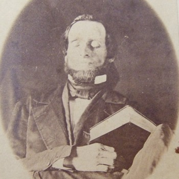 A REAL Post- Mortem photograph