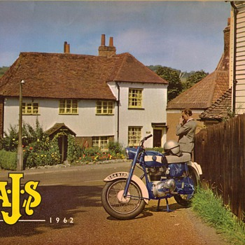 1962 - A.J.S. Motorcycles Sales Brochure