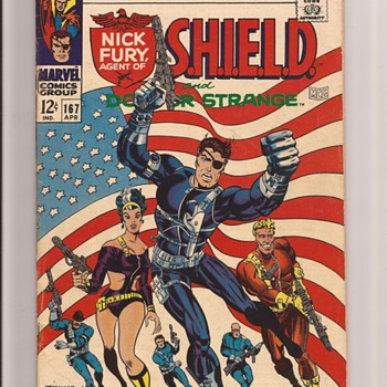 Steranko Nick Fury - Comic Books