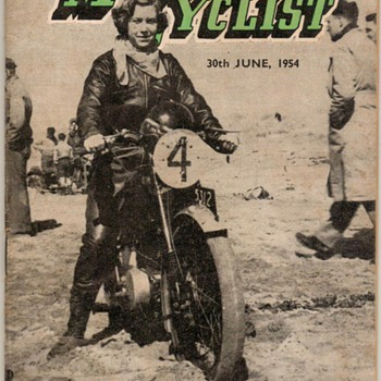 1954 - New Zealand Motorcyclist Magazine - Paper
