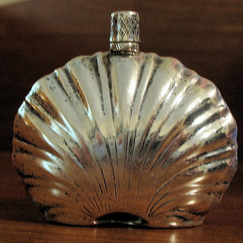 Vintage Tiny Sterling Perfume Bottle - Bottles