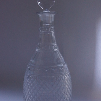 Top Notch Decanter - Art Glass