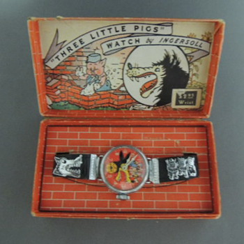 Big Bad Wolf Wrist Watch