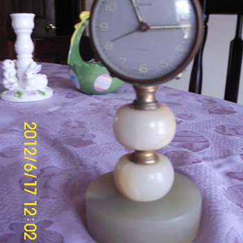 some of my marble clocks - Clocks