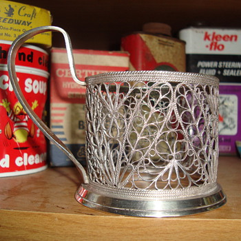 candle holder  ????????????? - Sterling Silver