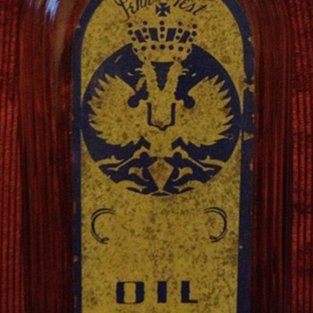 Vintage Pennex Co. Oil Bottle
