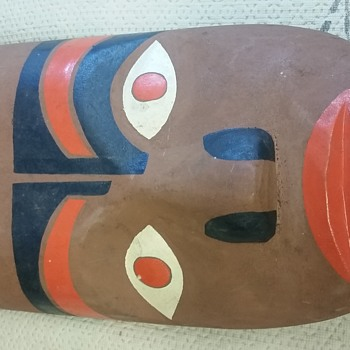 Ojibaway mask find - Native American