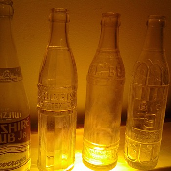 vintage bottles, 1950&#039;s?
