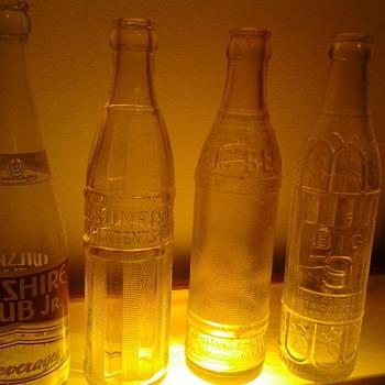 vintage bottles, 1950's?