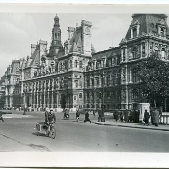 WWII Paris Scenes