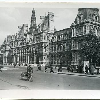 WWII Paris Scenes