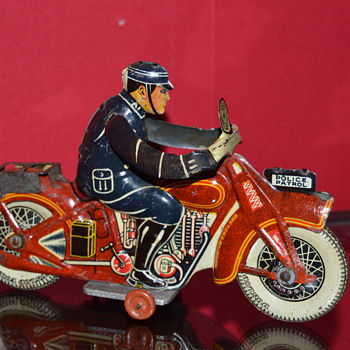 mettoy motorcycle - Toys